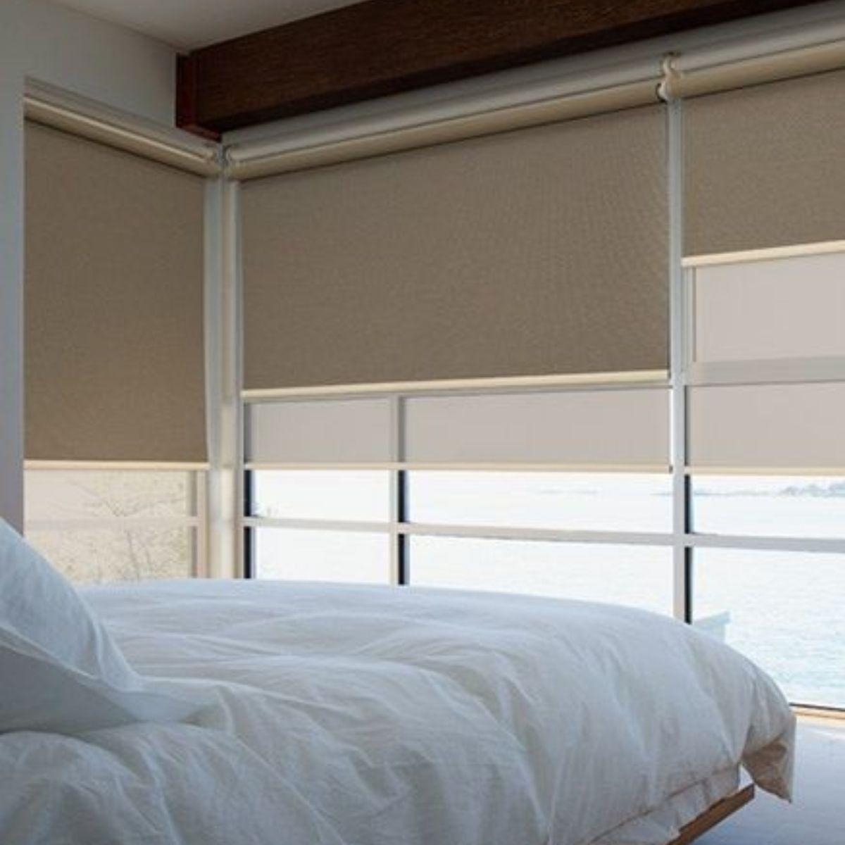 rullo žalūzijas guļamistabai 1